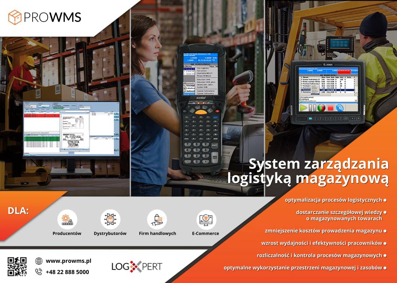 Magazynowy system informatyczny klasy WMS